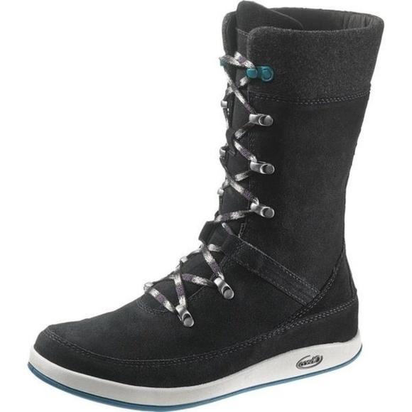 Chaco Shoes - Chaco Black Uma Winter Boot  (Women)